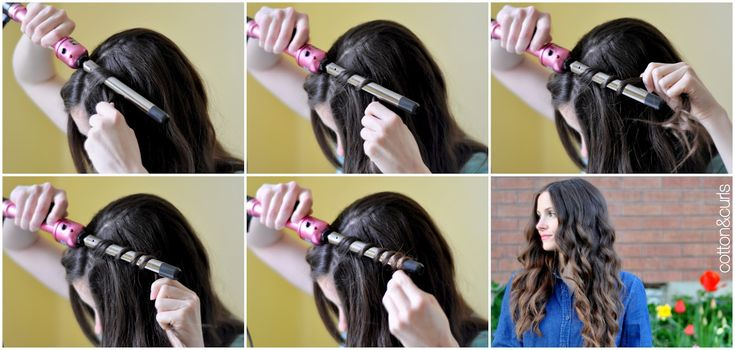 C: Spiral curls hair tutorial - for long or short hair!