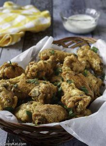Make your own homemade Lemon Pepper wings just like the Wingstop with this copycat recipe.