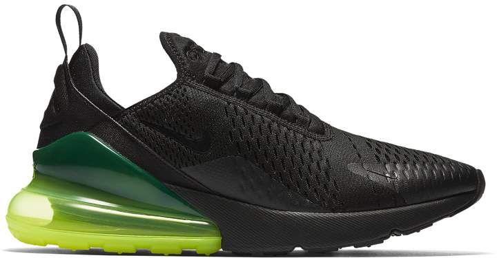Nike 270 Black Volt | Nike air max, Nike air et Nike