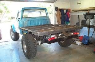 Homemade Truck Flatbed Plans