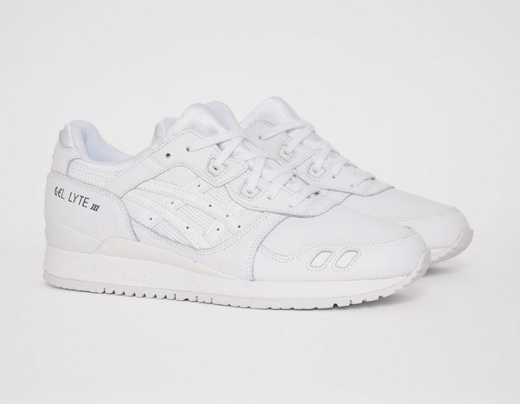 #Asics Gel Lyte III White #sneakers