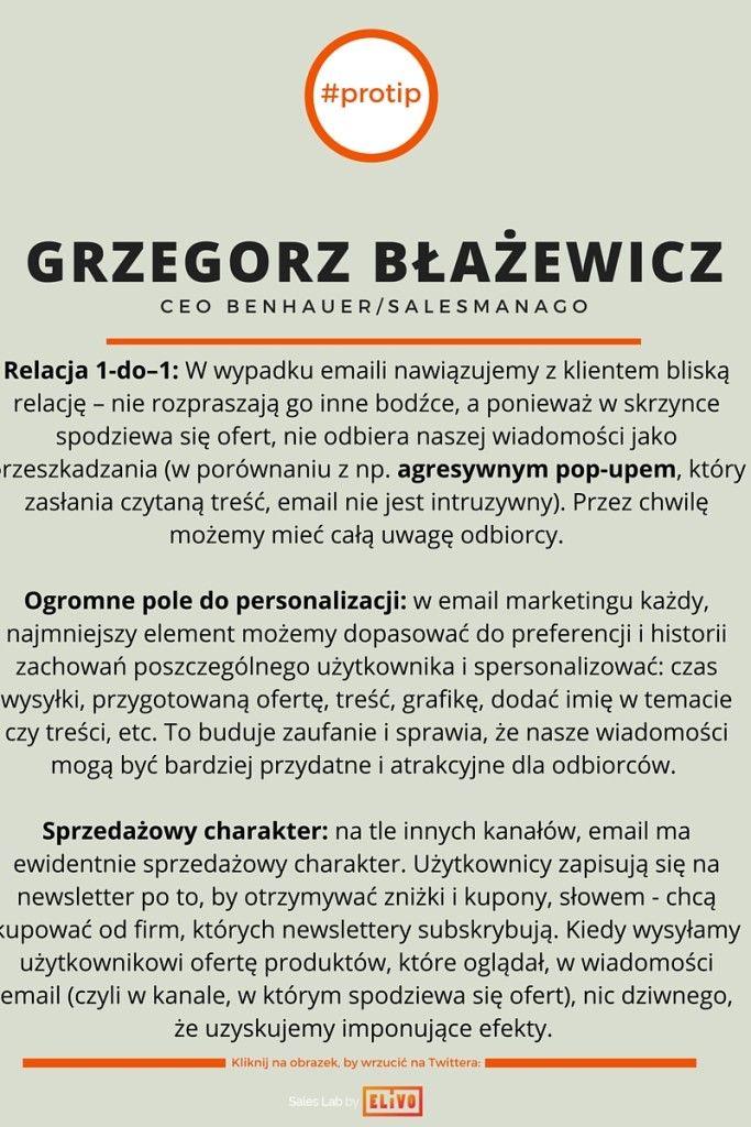 grzegorz błażewicz - CEO SALESmanago