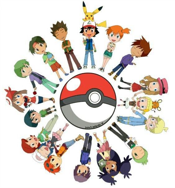 Ash And All His Friends Ash Ketchum Satoshi Pinterest Ash Pok 233 Mon And Pokemon Stuff