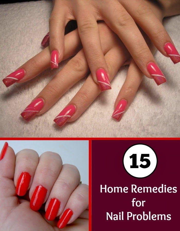 how to take care of nails naturally