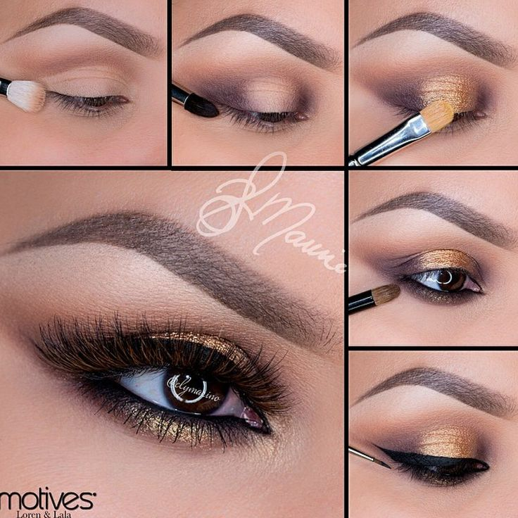Love this eye makeup!! And her eyebrows are just perfect