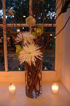 Wedding, Flowers, Reception, Centerpiece, Green, Ceremony, Decor, La partie events