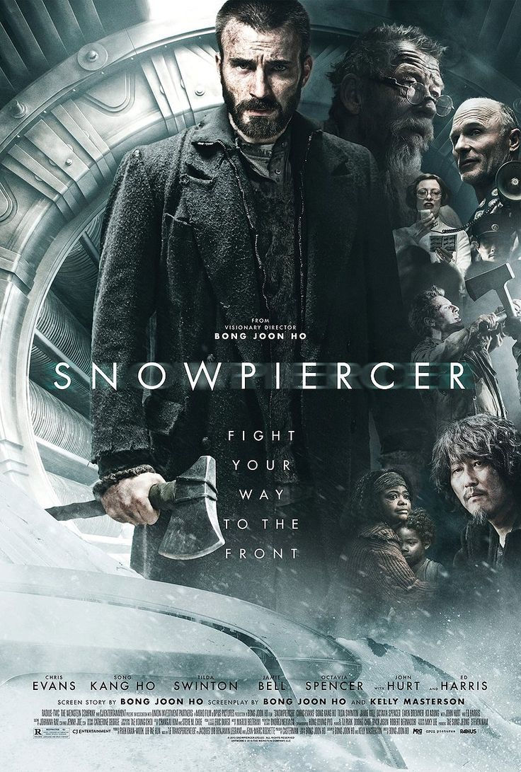 Snowpiercer, a film I recommend watching. Chris Evans's monologue towards the end was some of his best acting to date #film
