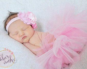 Basta Collection  caldo rosa neonato tutu W fascia tutu