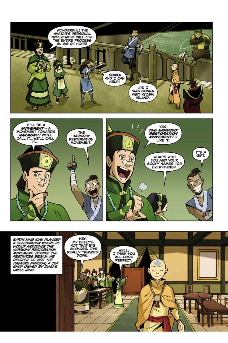 Read Comics Online Free - Avatar The Last Airbender - Chapter 001 - Page 11