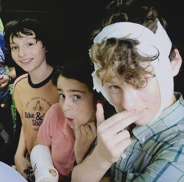 Finn, Jack, and Wyatt.