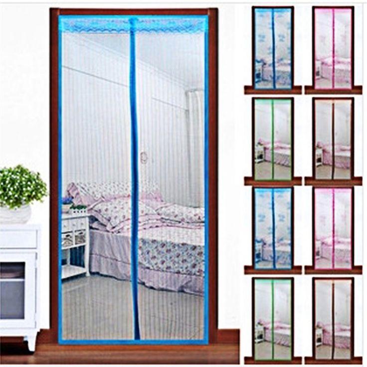 Door Screen Mesh Magnetic Magic Mesh Insect Screen Door In Door with size 1000 X 1000