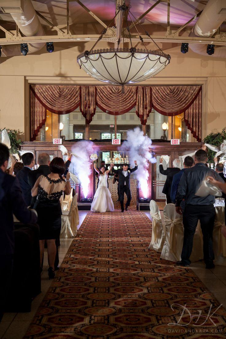 A Grand Entrance for a Grand Ballroom (our Grand Central Ballroom that is!). Liuna Station. Hamilton, Ontario. www.liunastation.com.\  Photo credit: David + Kara Photography