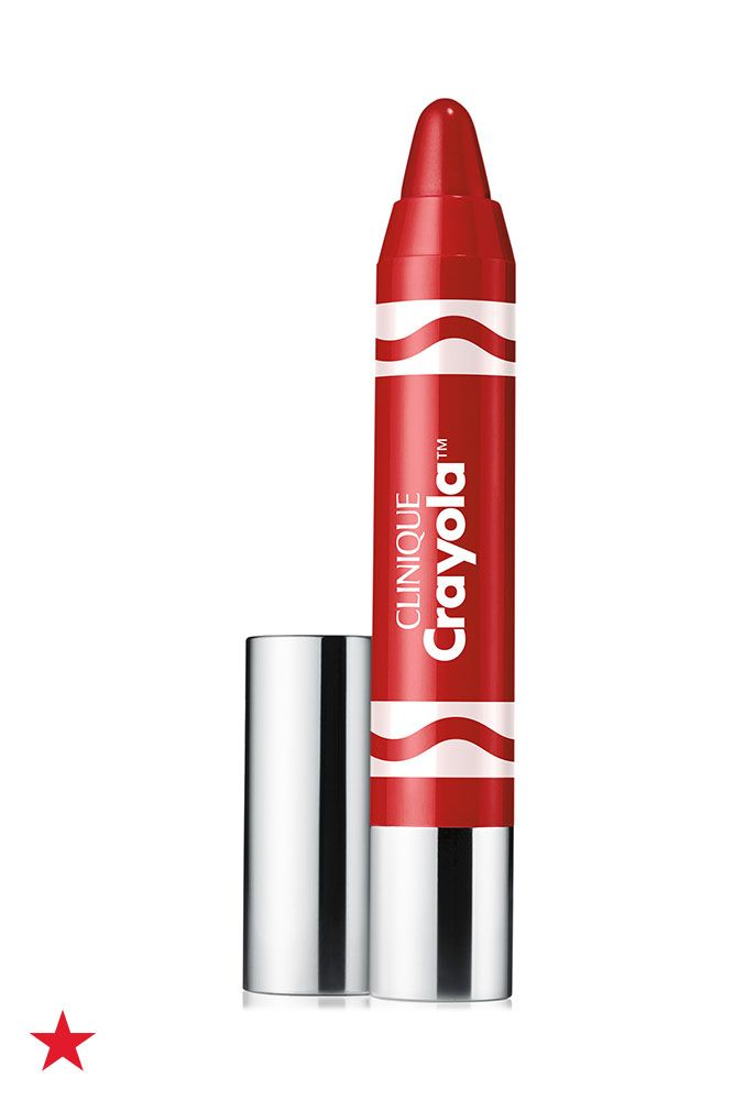 The iconic red crayon is now your favorite red lipstick! The Brick Red Chubby Stick from the new Crayola and Clinique collaboration is a beauty must-have. Click to shop all the shades at Macy's.