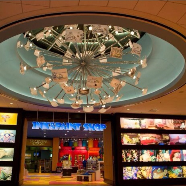 Love The Skylight And Chandelier Of Animation Hall