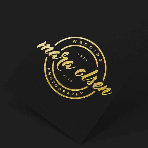 Elegant Wedding Logo Wedding Logo Branding Calligraphy