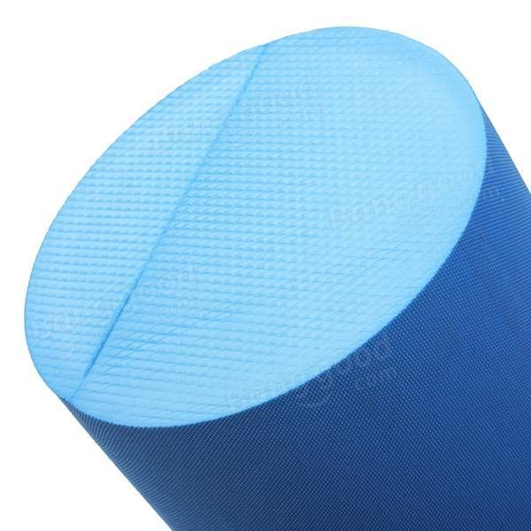 30x15cm EVA Yoga Pilates Fitness Massage Therapy Foam Roller Exercise Massage Gr - US$9.99