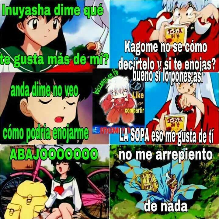200 Memes Mas Inuyasha Memes 3 A Llegado Despues De Dos Grand Fanfic Fanfic Amreading Books Wattpad Memes De Anime Inuyasha Gracioso Inuyasha