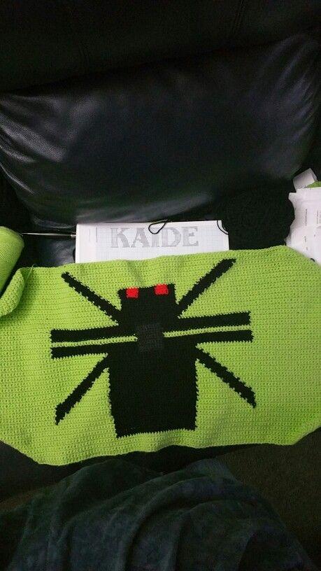 Minecraft spider.