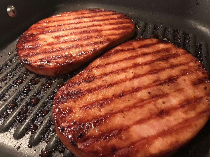 Grill up this delicious ham steak on a night when you need a quick and easy dinner. This sweet glaze makes this ham taste off the charts good.