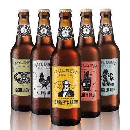 Hilden Brewing Co. designed by Elm House Creative. #beer