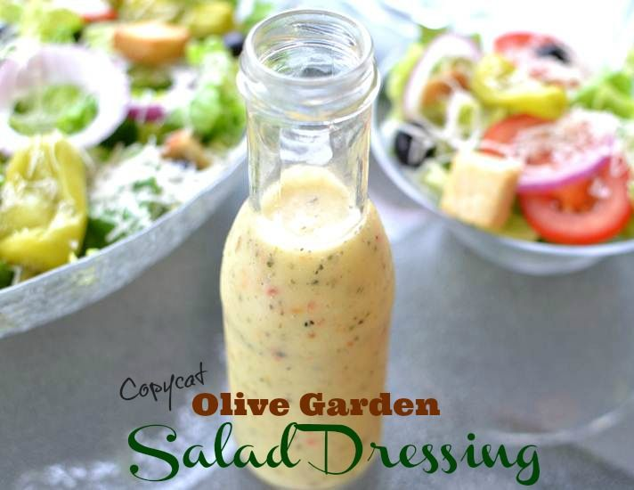 Best 25 Olive Garden Italian Dressing Ideas On Pinterest Olive Garden Salad Salad Dressing