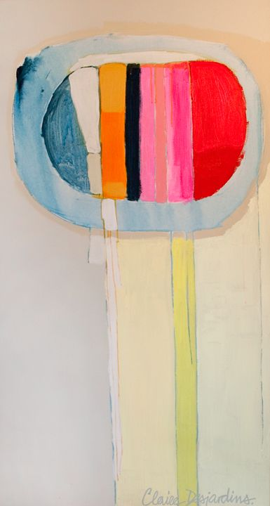Claire Desjardins. Acrylic on canvas.