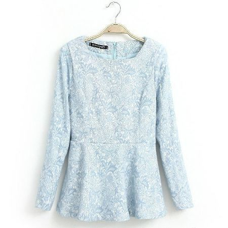 Atasan Brokat Lengan Panjang   Toko Baju Online