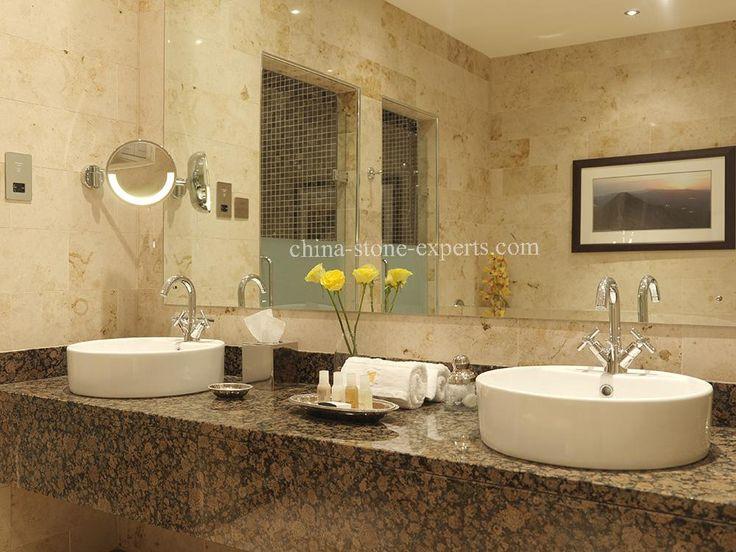 Baltic Brown Coffee Granite Vanity Top For Bathroom Yqz Gc1007