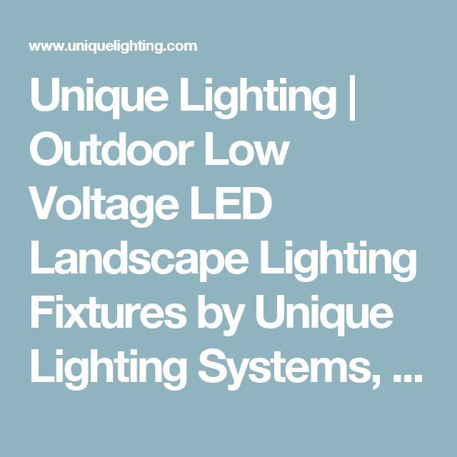 Unique Low Voltage Landscape Lights: Best 25+ Landscape Lighting Transformer Ideas On Pinterest