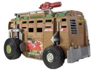 Teenage Mutant Ninja Turtles 2012 Shellraiser TMNT Sewer Assault Vehicle Van | eBay
