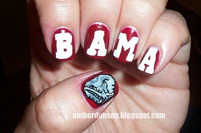 Amber did it!: Congrats to Alabama, 2012 BCS Champs!