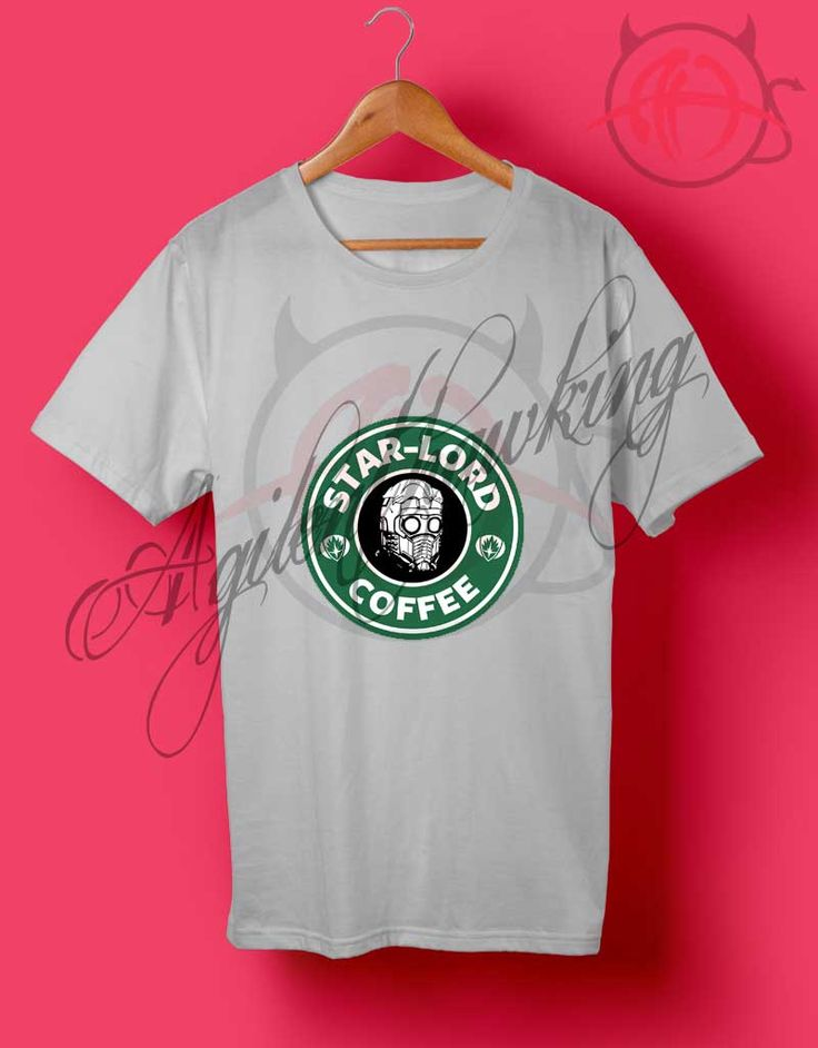 Starbucks Coffee Star Lord T Shirt //Price: $14.50