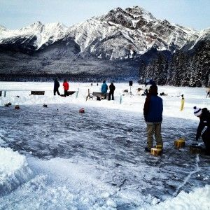 Jasper in January is a month long festival that takes place in Jasper, Canada