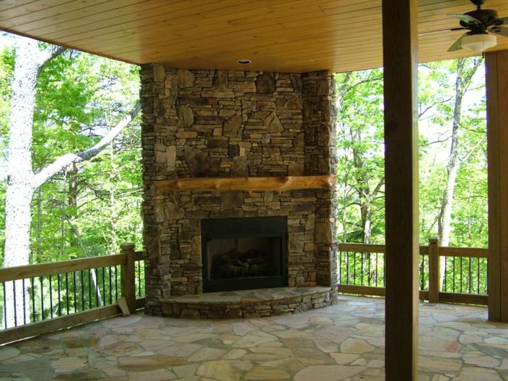 17 best images about patio fireplace on pinterest for Covered patio with fireplace