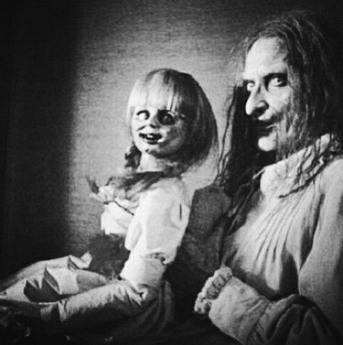 The Scariest Ventriloquist in the World...with the Scariest Dummy Ever (well, not EVER, but damn scary!).