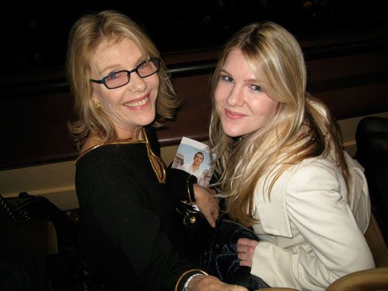Actress: JILL CLAYBURGH and daughter Actress: Lily Rabe