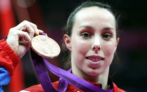 Team GB Medals 2012    40. Beth Tweddle - BRONZE  (Gymnastics, Artistic: Women's Uneven Bars)