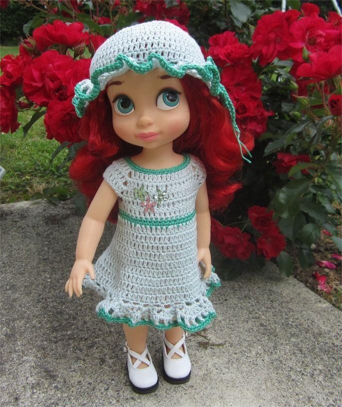 33- FICHE PATRON Sandra pour poupée Animator de 38 cm : Jeux, jouets par atelier-crochet