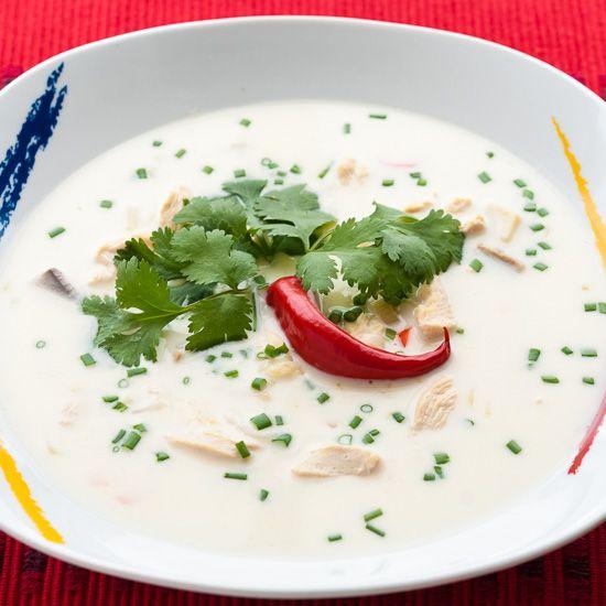 Tom Kha Gai soup (Tom Kha Kai)
