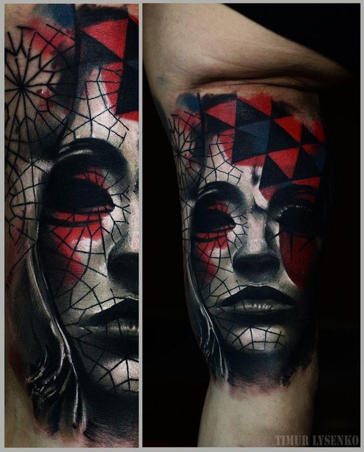 TIMUR LYSENKO, tattoo artist | The VandalList