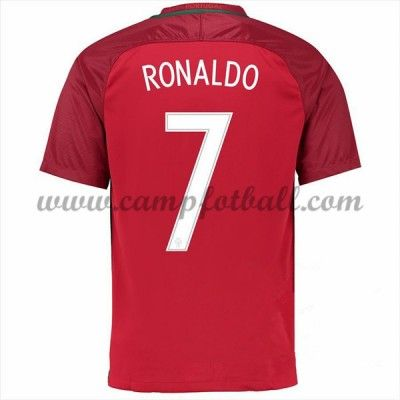 Portugal 2016 Landslagsdrakter Cristiano Ronaldo 7 Hjemme Draktsett