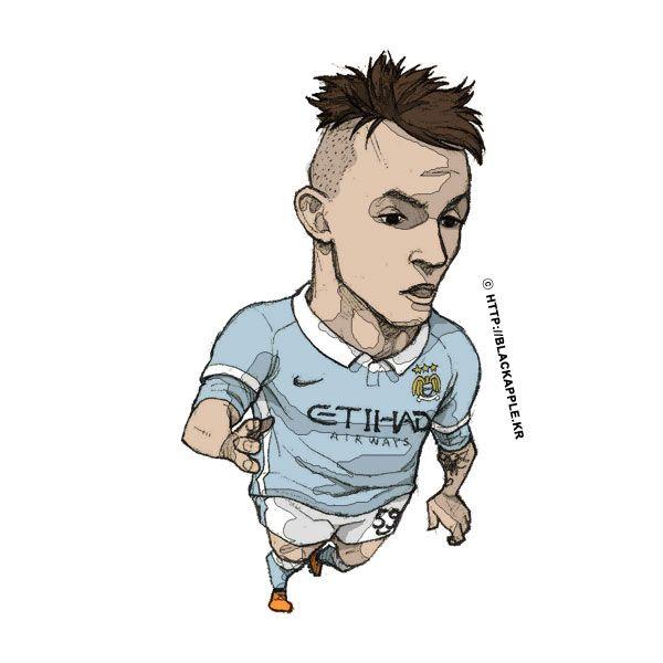 Manchester City No.59 Bersant Celina Fan Art
