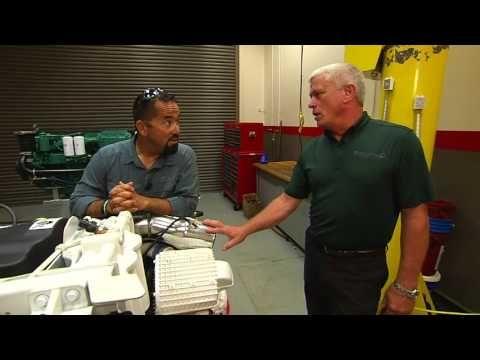 How do you change the oil filter in a #VolvoPenta D11 engine? #Flyzone #Florida #Detroit #Diesel #Allison https://www.youtube.com/watch?v=gDWCz_aM2hI