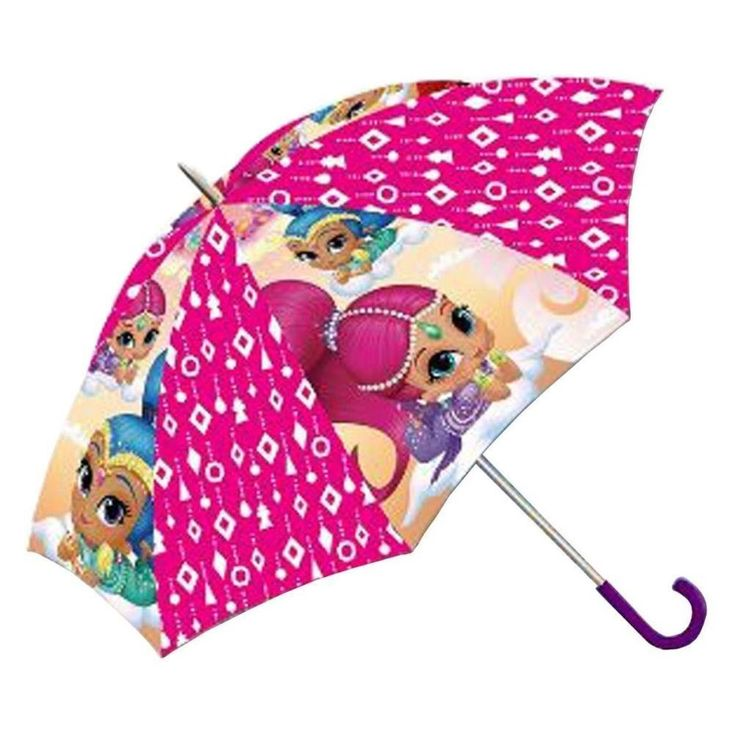 Nickelodeon Shimmer And Shine Kids Girls Bubble Dome Umbrella 60cm | eBay