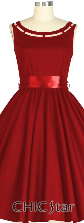 Retro 1950s Dress -ChicStar Design by Amber Middaugh
