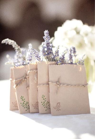 romantic lavender mini bags | #lavender