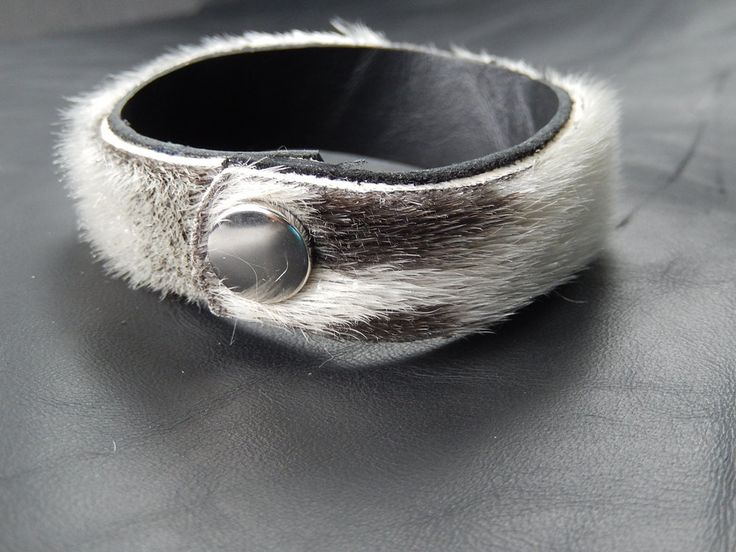 Image of Sealskin Soft Cuff with Snap Closure