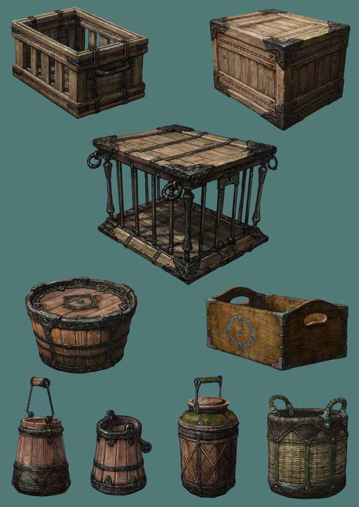 Dungeon crawler parts