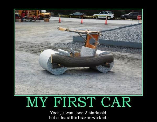My first car funnies | Car jokes, Car humor, Sell car