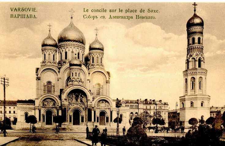 Orthodox Church in the Saski Square, finished around 1912